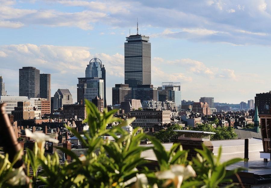 Boston Skyline Sudbury Views